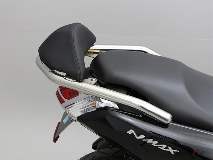 NMAX バックレスト+グラブバーセット ステンレス