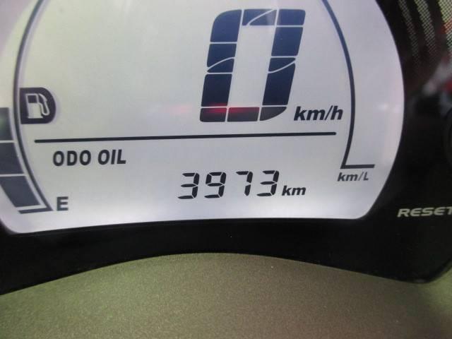 走行距離は3973km