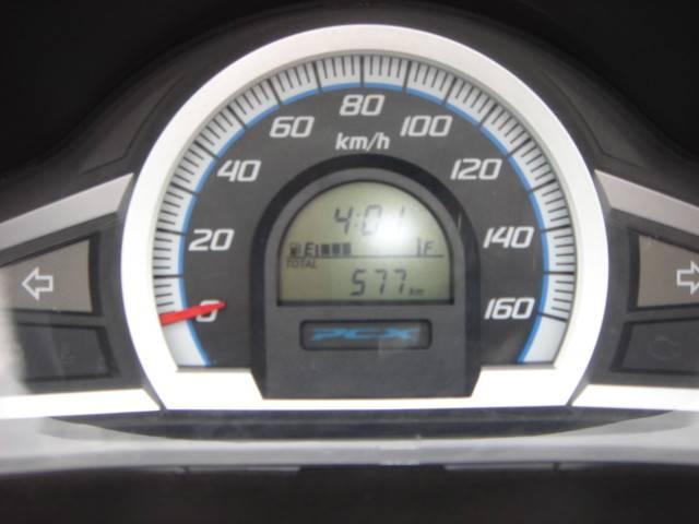 走行580kmのPCX