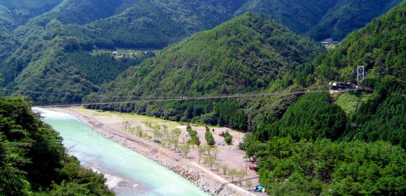 谷瀬の吊橋 2