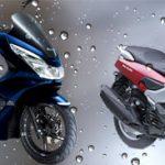 雨の日乗りやすいのはPCXそれともNMAX?