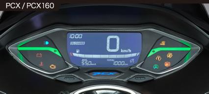 2021年モデルPCXメーター