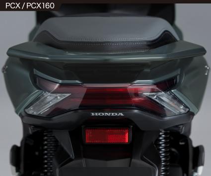 2021年モデルPCXテールランプ