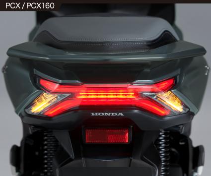 2021年モデルPCXテールランプ2