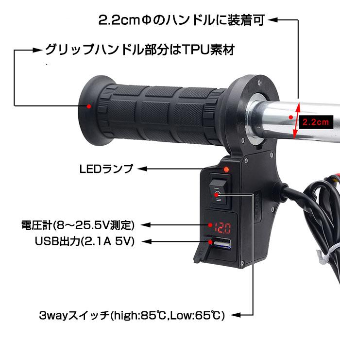 2.1Aの急速充電ができるUSB付きで3280円